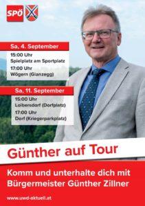 Günther auf Tour
