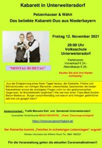 Kabarett in Unterweitersdorf